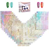 YOTINO Nagelstickers, vinyl, nail art manicuresjabloon DIY nagelstickers (288 stuks)