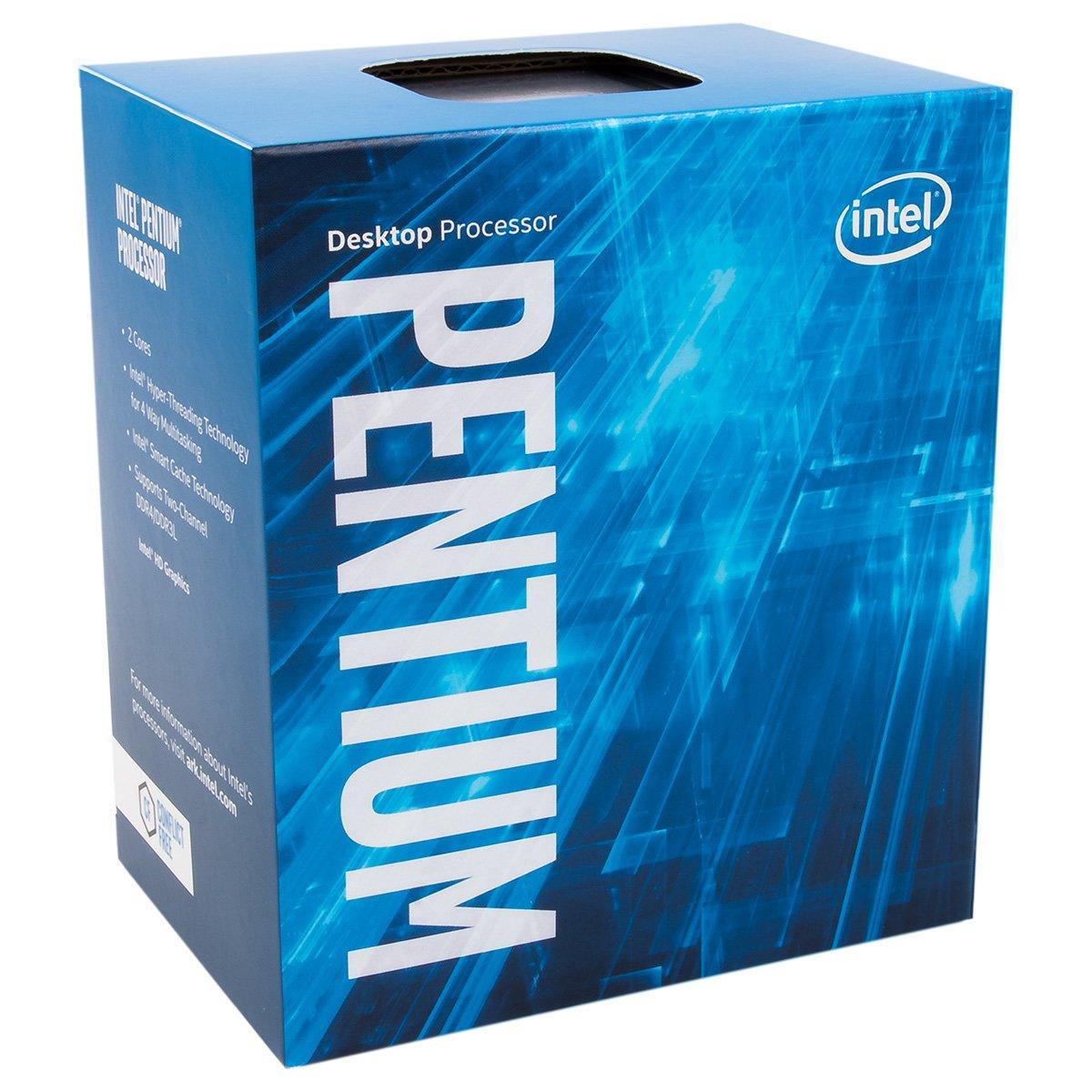 Intel Pentium Dual Core 3.6GHz CPU G4600–nero
