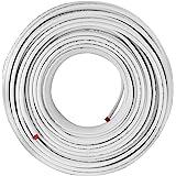 BuoQua Composietpijp 200M PEX AL PEX geïsoleerde aluminium verbindingsbuis 16 x 2 mm niet-giftige vloerverwarmingsbuis warm e