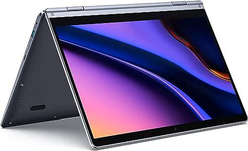 XIDU PhilBook Max Notebook Convertibile, Display da 14,1 pollici, Touch Screen, Processore Intel E3950 2,5GHz, 128GB SSD, RAM 8GB, Tastiera Retroilluminata, Windows 10 Notebook Pc Portatile