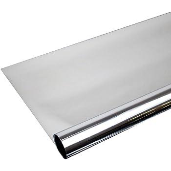 hoho bronze silber one way spiegel folie fenster 152 4 x. Black Bedroom Furniture Sets. Home Design Ideas