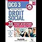DCG 3 Droit social - Fiches de révision - 2021/2022 : Réforme Expertise comptable