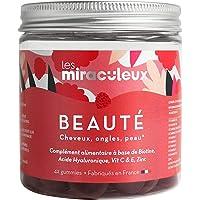 Les Miraculeux - BEAUTÉ CHEVEUX ONGLES PEAU - BOÎTE DÉCOUVERTE - Gummies - Complément Alimentaire Naturel Vegan…