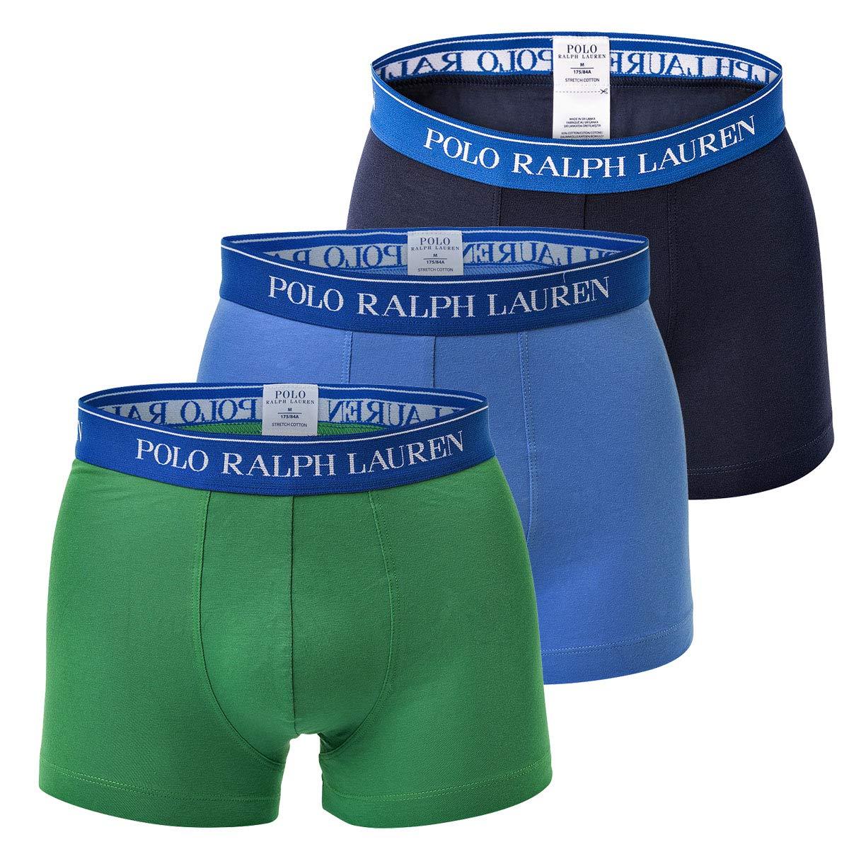 Polo Ralph Lauren Hombre Calzoncillos Paquete de 3 – Algodón, Multicolore