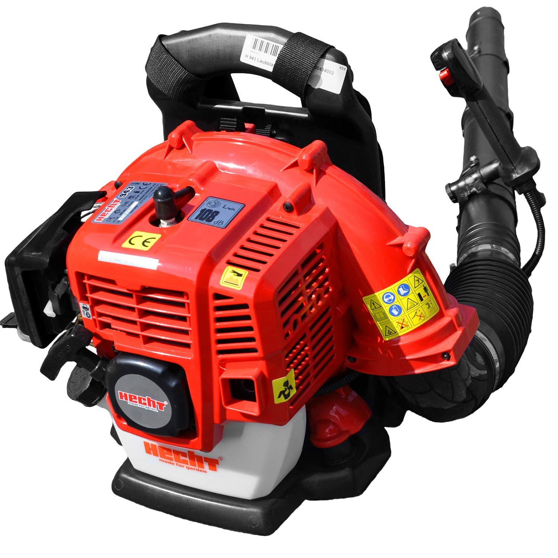 Hecht 943 rückentragbarer 2-Takt Benzin-Laubbläser (1,7 PS, 43 ccm)