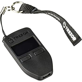 Trezor Bitcoin Currency Hardware Wallet (Black)