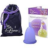 Me Luna Coupe menstruelle Sport, manche, bleu/violet, taille L