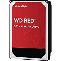 WD Red 10TB 3.5 Zoll NAS Interne Festplatte - 5400 RPM Class, SATA 6 Gb/s, CMR, 256MB Cache - WD101EFAX