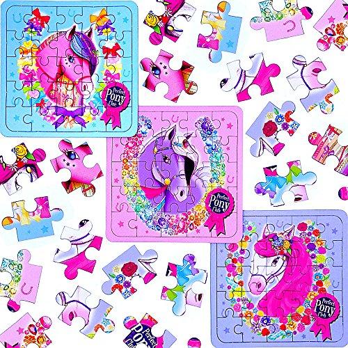 Monster Hi (German Trendseller® - 24 x Pferde Party - Puzzle ┃ Kindergeburtstag ┃ Mitgebsel ┃ Pferde Party ┃ 24)