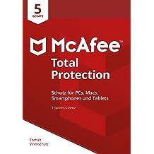 McAfee Total Protection 2018 für 5 Geräte [Online Code]