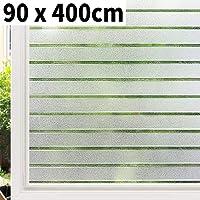 Guer Film de protection solaire en verre anti-UV 30cmx1m noir