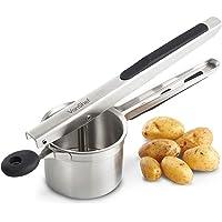 VonShef Outil de Cuisine Multifonction Professionnel Utilisable comme Presse-purée, Presse-Agrumes, Presse-spätzle - en…