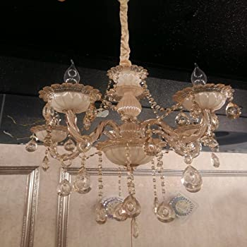 Buy Sanleen Enterprises Crystals Chandelier Lights Pendant Ceiling ...