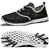 حذاء New DenBer شبكي سريع الجفاف للنساء مائي, (اسود), 39 EU