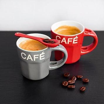 Eurographics Deco Glass BA3205 Espresso Cups, 20 x 20 cm: Amazon ...