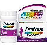 Centrum Women – Multi Vitamines et Minéraux – 13 vitamines et 10 minéraux – Complément alimentaire pour femme – Flacon de vit