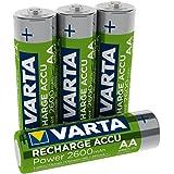 VARTA oplaadbare accu Ready2Use AA 2600 mAh 4-pack AA 2600mAh 4er Pack Grün, Silber