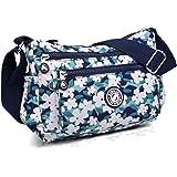 AIBILIEI multi-tasca Moda Borsa Messenger Bag, Squisito Donna Viaggio, Escursioni, Shopping uso Quotidiano