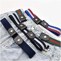 HTYA 4 Pieces Buckle-free Invisible Elastic Waist Belts sohefia