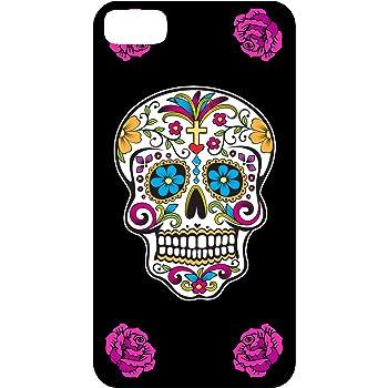Yonacrea - Coque 3D téléphone Iphone 5C - Tête de mort mexicaine