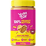 Yogabar 100% Pure Peanut Butter | Creamy & Yummy Unsweetened | Slow Roasted | Non-GMO Premium Peanuts | No Added Sugar…