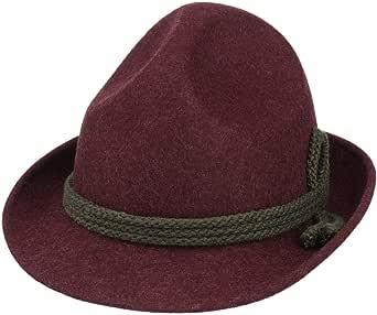 Lipodo Tricorno Feltro di Lana Cappello Classico - Cappello Tradizionale da Uomo - Cappello Tirolese Made in Italy - Cappello Alpino Idrorepellente - Estate/Inverno