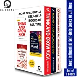 Most Influential Self-Help Books of All Time (Set of 3 Books)