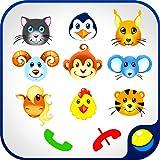 Baby phone para bebés - juego educativo interactivo para niños de teléfono para hacer llamadas falsas y aprender números 0-9, animales domésticos y salvajes, sonidos de animales. Colores brillantes y alegre música contribuyen a un mejor