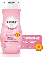 Betadine Intimate Wash - Moisturising Calendula, 50 ml