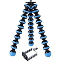 Yantralay 10 inch Lightweight Flexible Gorillapod Tripod with Mobile Attachment for DSLR, Action Cameras, Digital…