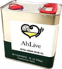 AHLIVE Extra Vigin Olive Oil - 3 LTR