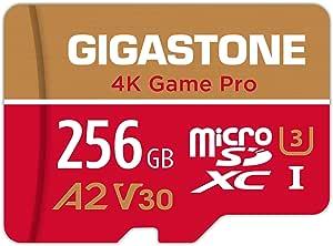 Gigastone 256gb Micro Sd Karte 4k Game Pro Nintendo Computer Zubehör