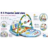 Supreme Deals Baby's 3-in-1 Kick and Play Musical Activity Gym Lay, Sit and Play Mat with Music, Projection Lights and…