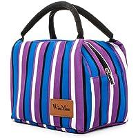 winmax Sac Isotherme Repas Femme Lunch Bag Sac à déjeuner Sac Fraîcheur Portable Sac de Pique-Nique pour Le École et Le Travail, by