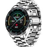 LIGE Smart Watch, fitnesstracker met bloeddruk, hartslagmeter, 1,3 inch touchscreen, waterdicht IP67 smartwatch, fitnesshorlo
