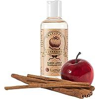 Huile de massage érotique avec un parfum hivernal de cannelle aphrodisiaque et de pomme (100ml) pour des massages du corps, le rapport sexuel, massage de couples et massages intimes (100ml)