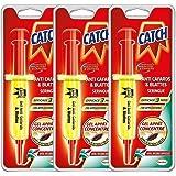 Catch - Gel Anti cafards 10 GR, SERINGUE Insecticide LOT DE 3