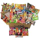 60 Japanse snoepjes & snacks 10 sushi snoepdoosjes Amezaiku 10 Japans Kit Kat assortiment en 40 andere populaire snoepjes