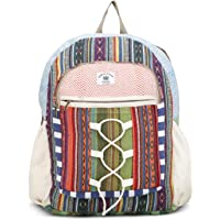 My Dream Women's Backpack Handbags (Cmd176, Beige Rose Print)