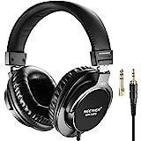 Neewer NW-3000 Studio Monitor Dynamische Drehbare Kopfhörer Set mit 45mm Loudhailer Treiber 3 Meter Kabel 6,5mm Stecker Adapter für PC Handy und TV