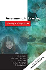 Assessment For Learning: Putting it into Practice Paperback