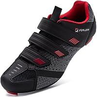 URDAR Chaussures de Cyclisme Homme Antidérapantes Chaussures de Vélo de Route Respirantes Legere Sport de Plein…