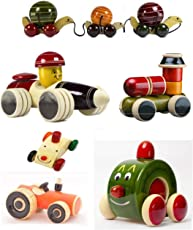 CeeJay Toys OW-OW009 Wooden Cars - Set Of 6