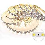 LEDENET 5M SMD5050 LED Bicolor CCT 2-in-1 24V 60W 300LEDs Kaltweiß + Warmweiß Dual White LED Stripe Nicht Wasserdicht