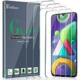 Ferilinso [4 Piezas] Protector de Pantalla para Samsung Galaxy A50, M21, M31, M30S,A30S, M31 Prime Cristal Templado Vidrio Te
