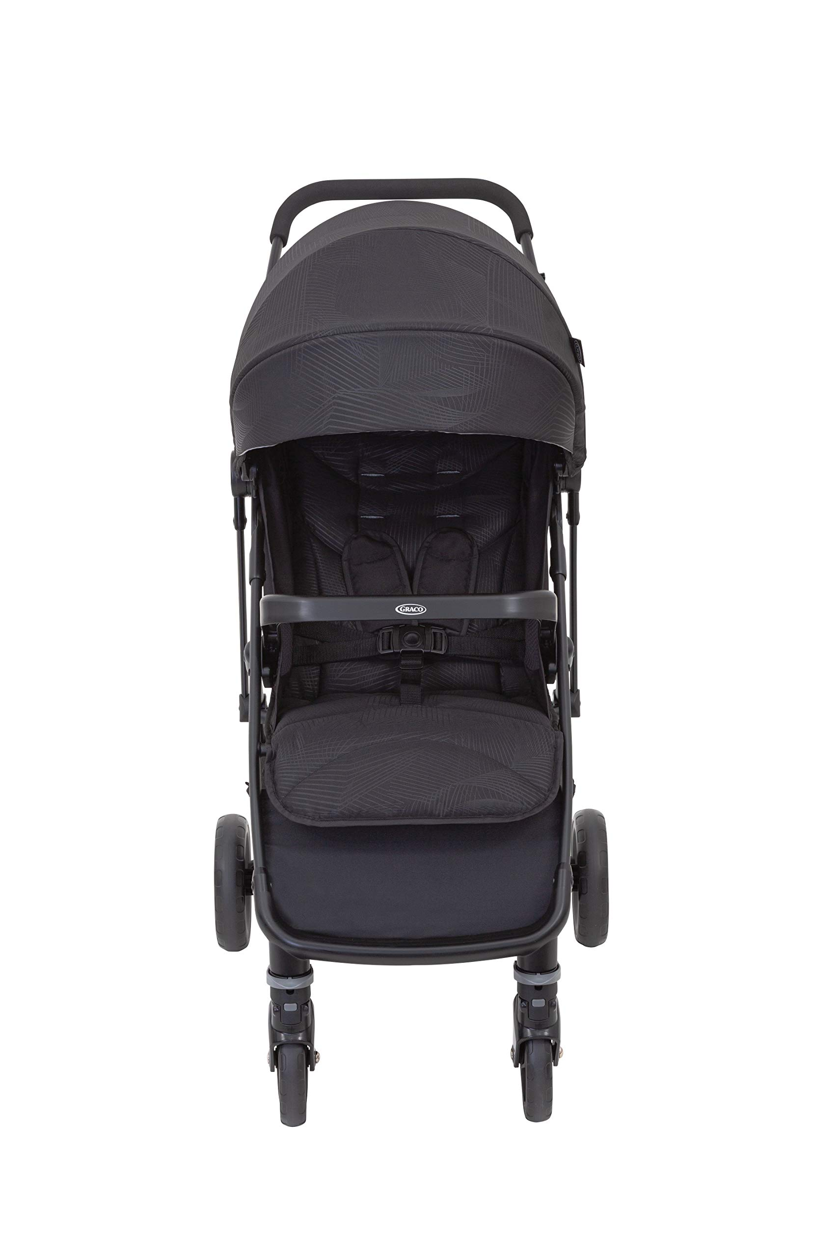 Graco Breaze Lite Stroller, Black Graco From birth to 3 years approx. (0-15kg) Lightweight at only 6.5kg Click connect travel system compatible with graco snugride/snugessentials isize infant car seats 1