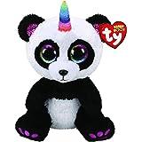 Ty - Beanie Boo's - Peluche Paris le Panda, TY36478, Multicolore, 30 cm