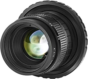 Neewer 35 Mm F1 7 Large Aperture Aps C Aluminium Lens Camera Photo