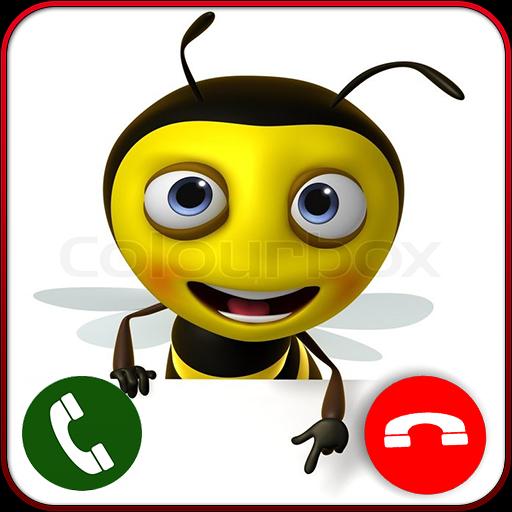 Live Video Call From Bee (Französisch Queen Bee)