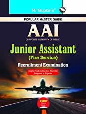 Airports Authority of India : Junior Assistant (Fire Service) Recruitment Exam Guide